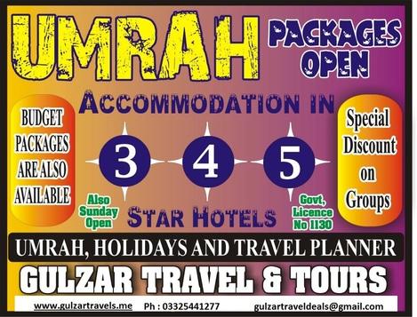 Rabi Ul Awal Umrah Packages 2018